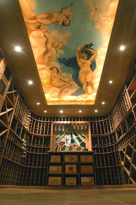 roman ceiling murals | Roman ceiling mural, Bermuda