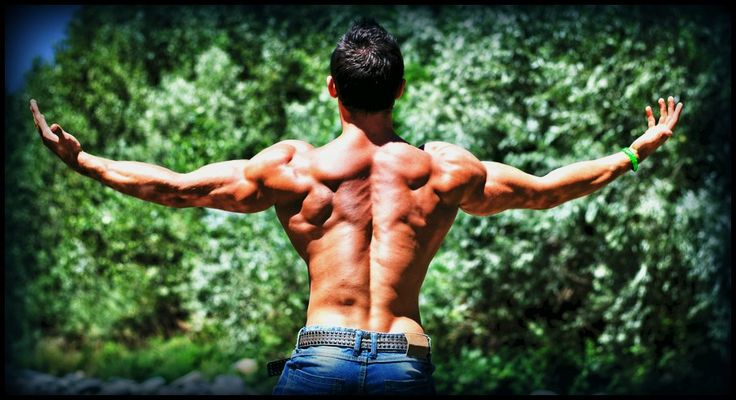 How to build the v-shape physique