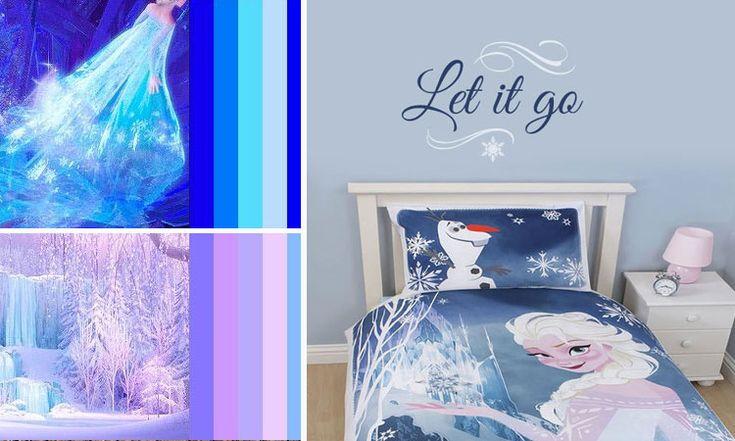 17 best ideas about decoracion frozen on pinterest for Habitaciones infantiles disney