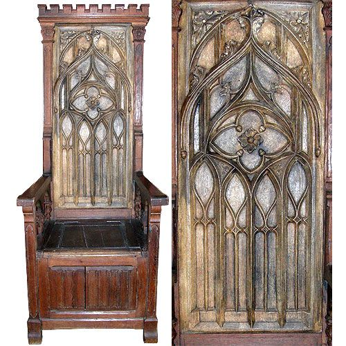 Gothic antique foyer chair. Ca 1820 [SALE] - 28 Best Gothic Chairs Images On Pinterest Gothic Furniture