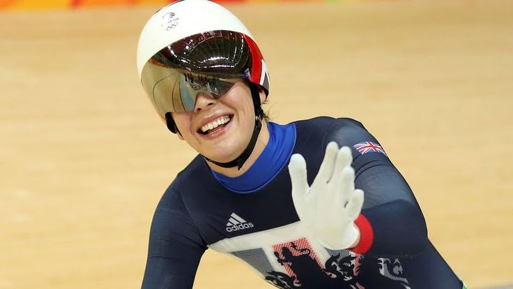 Rebecca James wins silver in the womens Keirin for Great Britain