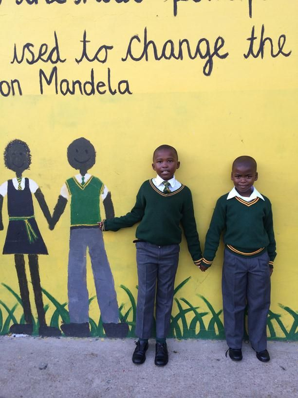 Pupils at Charles Duna Primary School, RAIN beneficiary, Port Elizabeth, South Africa (7)