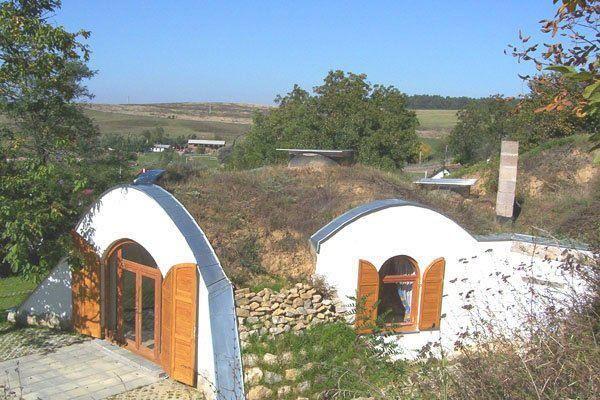 Beautiful Earth Sheltered Dome Cottage Underground House