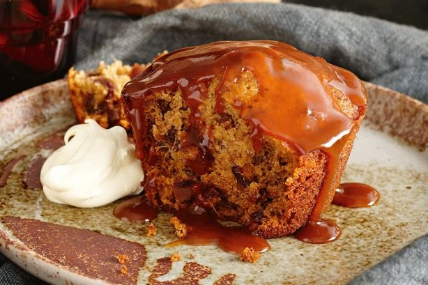 Finish off your winter feast with these delicious Sticky date puddings with burnt caramel sauce.