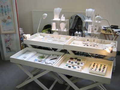 Judith Brown Jewellery: The Art Market, Holmfirth