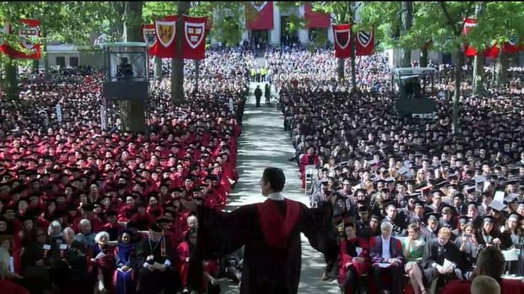 'Separate But Equal' - Harvard Has First Black Commencement