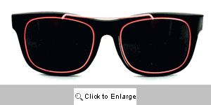 Gilly Metal Accent Wayfarers Sunglasses - 253 Pink