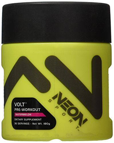 How Beta Alanine gives you EXPLOSIVE MUSCULAR STRENGTH AND POWER OUTPUT Neon Sport Volt Creatine Free Preworkout with Beta Alanine, Watermelon, 36 Servings, 180 Grams >>> Visit the image link more details.