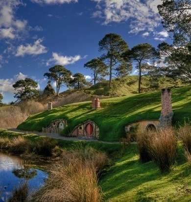 The Original Hobbit Hole - Hobbit Houses to Make You Consider Moving Underground - Bob Vila