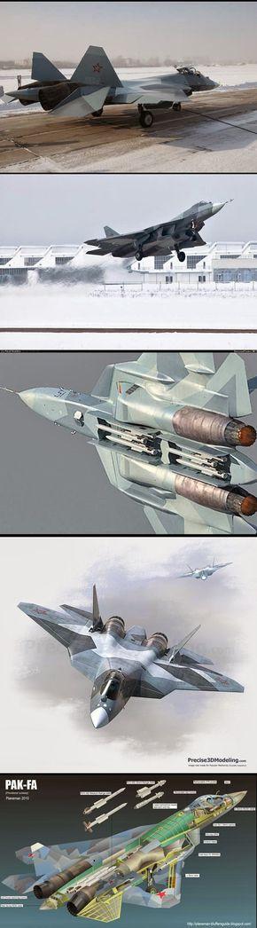 Blog Serius: Serius Cool - Sukhoi PAK FA T 50 : Pesawat Pejuang Terkini Russia (14 Gambar)