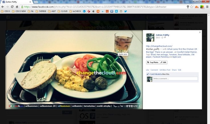 facebook cover image = surface where we could engage people with products or brands, places, languages, etc.