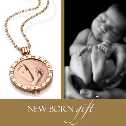 Remember your precious babies with Mi Moneda!! Rosegold is such a beautiful look along with the baby feet!