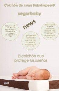 El colchón de cuna sanitario que previene y reduce el síndrome de la muerte súbita del lactante: Babykeeper® http://blgs.co/27zz3D