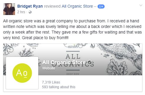 This is why we do what we do.  We love serving our customers!