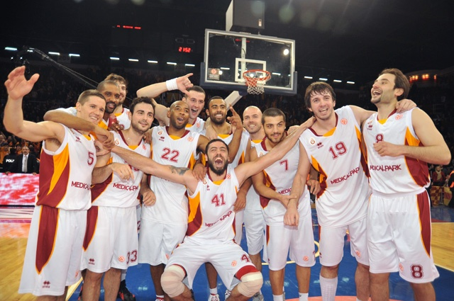 February 9th 2012, Galatasaray Medical Park 68 - 64 CSKA Moscow