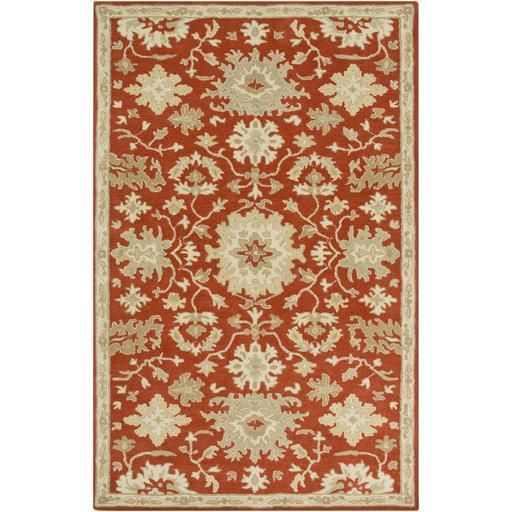Caesar CAE-1148 Red Damask Rug  #decor #rugs #myhome #floorcoverings #arearugs #homeideas #homedesign #classy #interiorstyling #fab