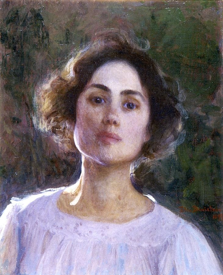 Elin Danielson-Gambogi - Self Portrait