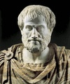 Aristotle, marble portrait bust, Roman copy (2nd century bc) of a Greek original (c. 325 …  [Credit: A. Dagli Orti/© DeA Picture Library]