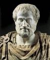 Aristotle, marble portrait bust, Roman copy (2nd century bc) of a Greek original (c. 325 …  [Credit: A. Dagli Orti/© DeA Picture Library]