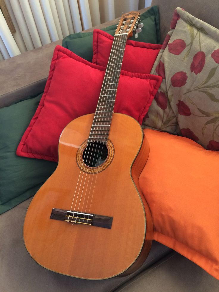 Di Giorgio Classic Guitar - How you played yours so beautifully. How I miss listening to you practice and relax me so.  MJK