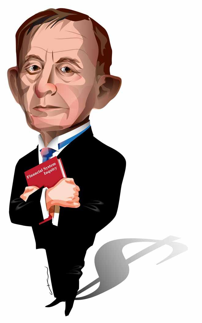 Nice new caricature on the ANZ 'Blue Notes' site. David Murray clutches his interim report into the Australia's Financial System     https://bluenotes.anz.com/posts/2014/07/half-time-for-the-murray-inquiry-interim-report-looms/