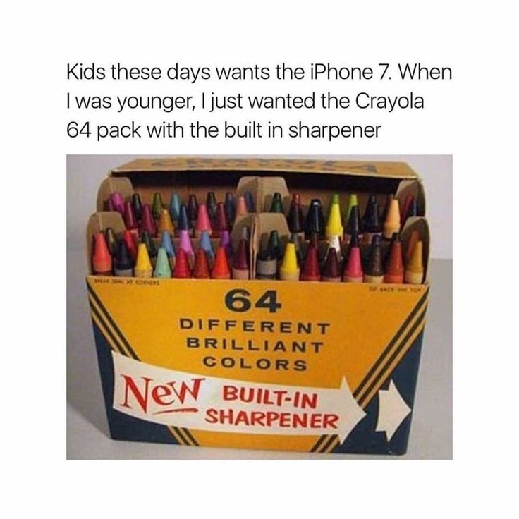 Yes! That crayon sharpener was everything, I thought it was the coolest thing that you could sharpen crayons