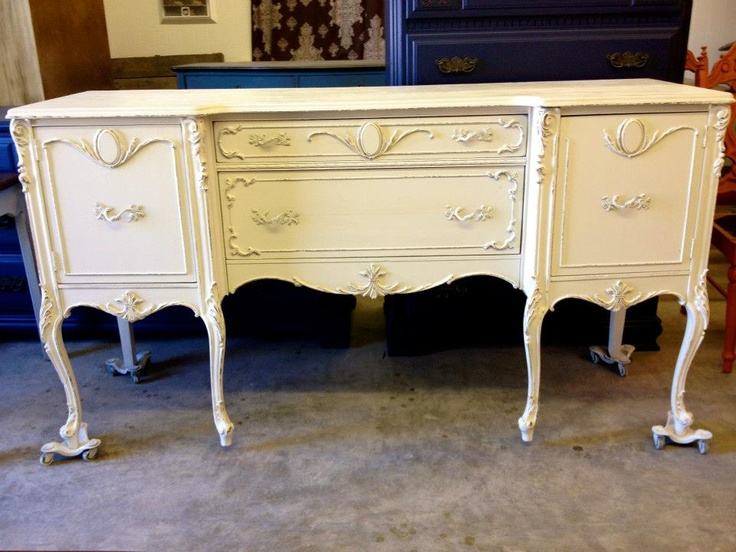 Painted Buffet By Vintage Charm And Restoration
