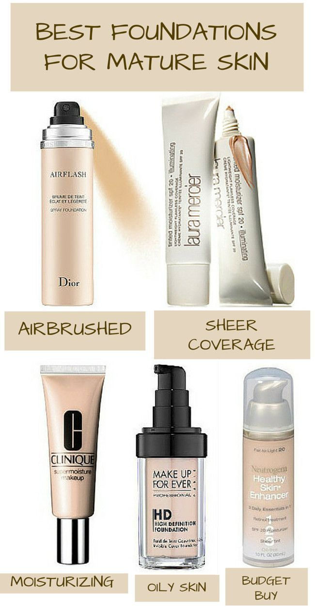 best foundations mature skin
