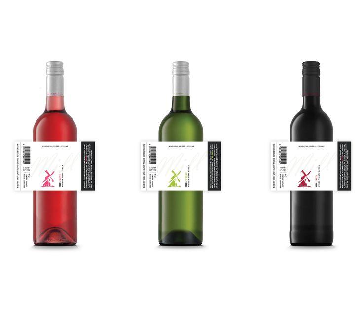 """查看此 @Behance 项目:""""Mill Range Label Design""""https://www.behance.net/gallery/37759913/Mill-Range-Label-Design"""