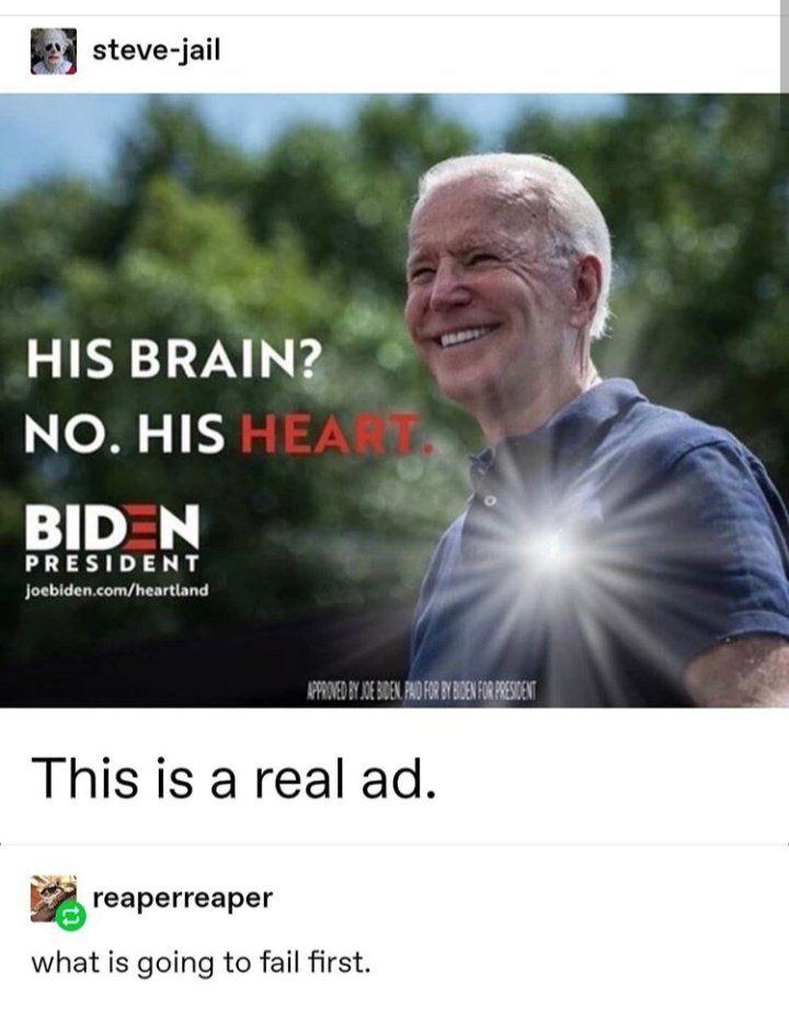 B I D E N Yes In 2020 Tumblr Funny Bad Jokes Funny Me