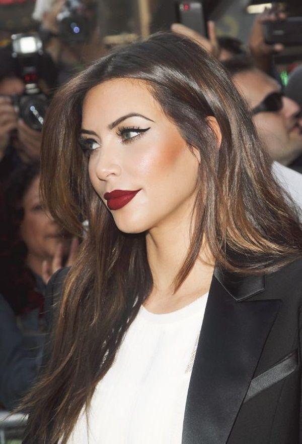 lipstick shades for fair skin kim Celebrity lipstick shade examples