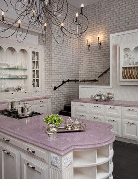 Lovely lavender counters