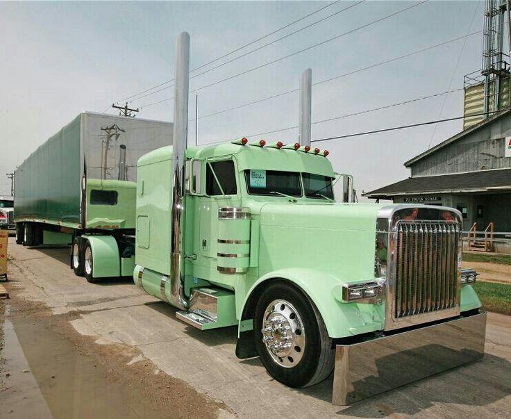 Tractor Trailer Rings : Nice peterbilt tractor trailer custom diesel wagons