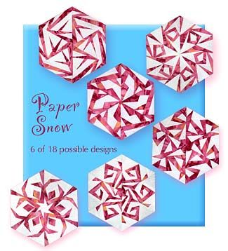 Paper Panache Paper-Pieced Snowflake Quilt Patterns