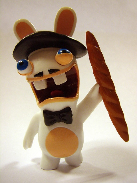 Around the World Raving Rabbid from France