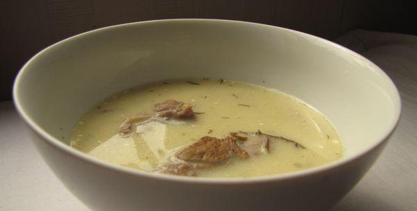 """""""Anya, ez isteni!..."""", avagy Gabojsza konyhája: Tárkonyos bárányfej leves (agyas leves)"""