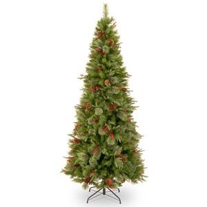 National Tree Co. Feel-Real Cleveland Artificial Christmas Tree-Slim