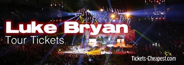 Luke Bryan Concerts - Sold Out and Hard To Find Tickets For All ...
