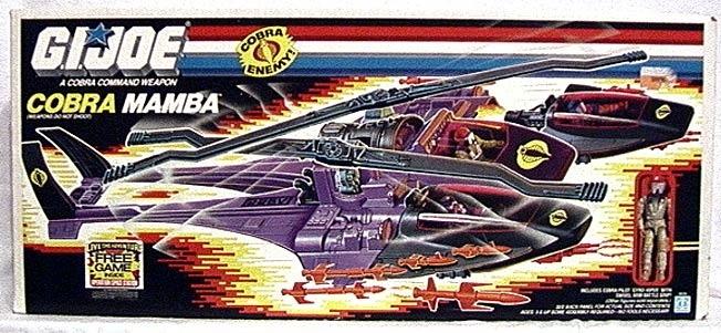 Cobra Mamba   YoJoe.com: Dedicated to the G.I.Joe of the 80's, 90's and beyond!