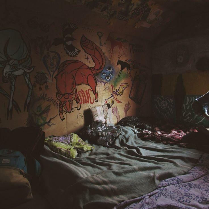 Дом в котором . Комната .