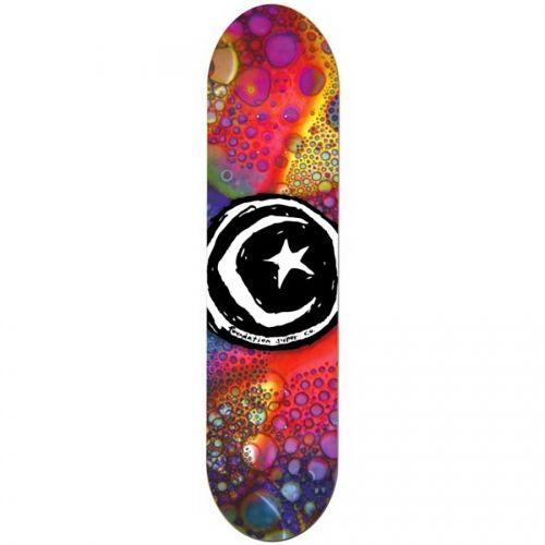 Foundation Skateboards Foundation Star & Moon Liquid Light Deck 8.125x32.125
