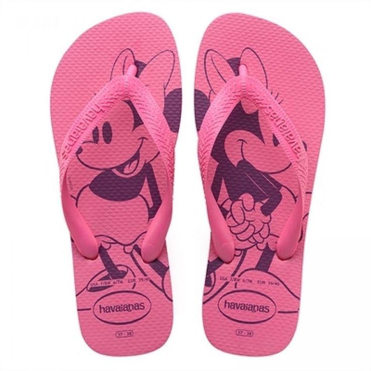 Havaianas Disney Shocking Pink Flip Flop  Price From: 22,13$CA