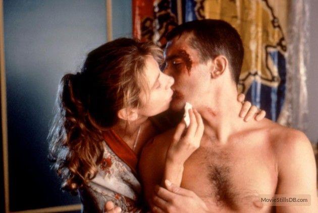 ¡Átame! - Publicity still of Antonio Banderas & Victoria Abril