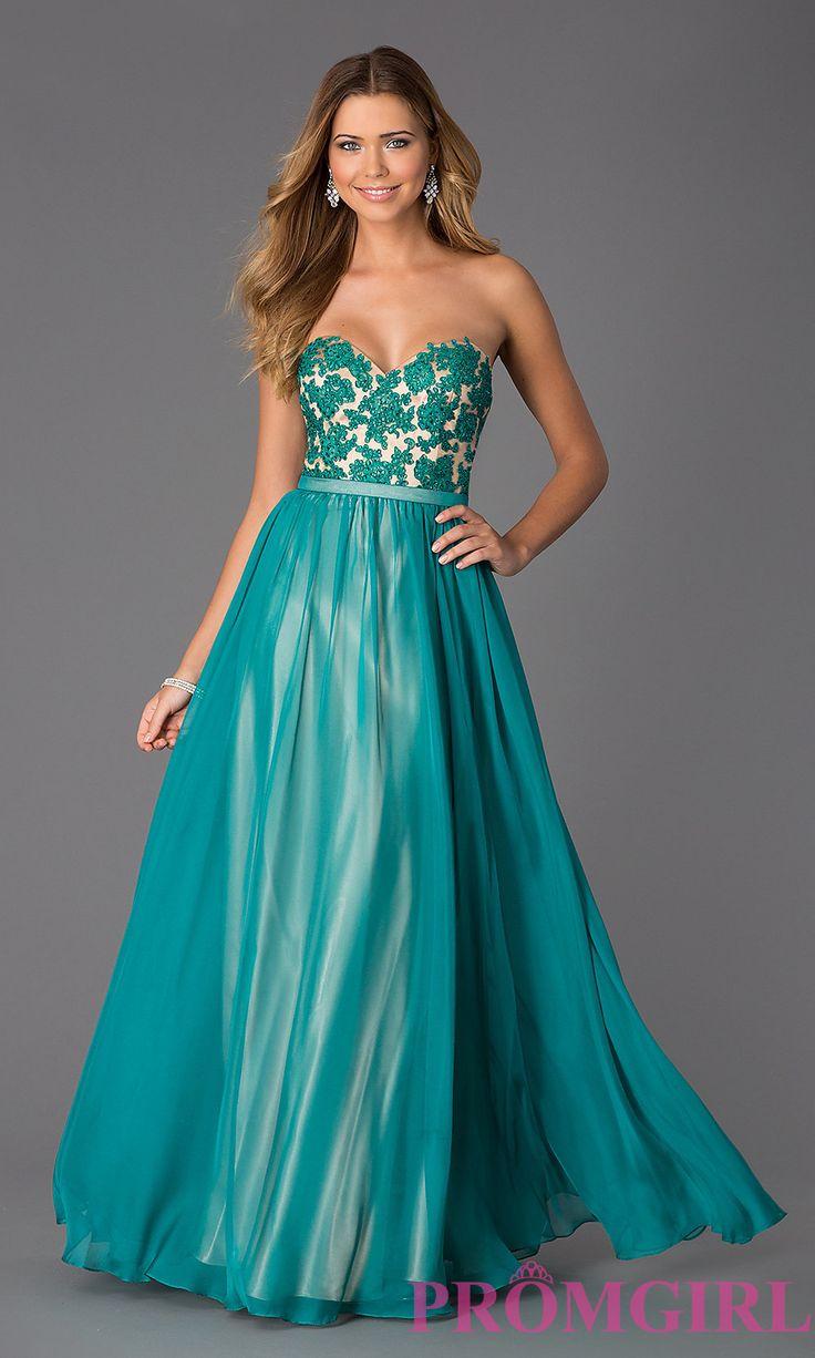 49 best Prom/Formal * Peach, Coral, & Orange Dresses images on ...