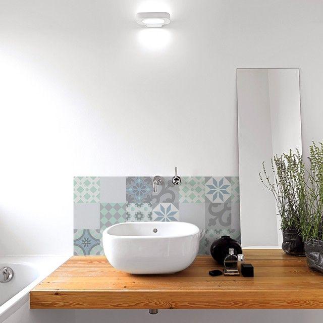 11 best Crédence salle de bain 99deco images on Pinterest Bandeau - plafond pvc pour salle de bain