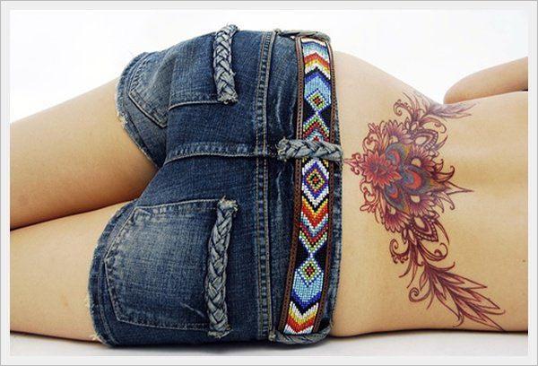 pictures - 30 Lower Back Tattoo Designs