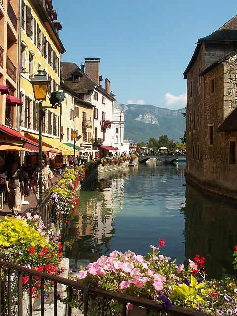 Annecy, France. How perfect is this?