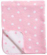 #wiegdeken met #stippen #roze #pink #nursery #babykamer #dreumesenzo #baby #blanket