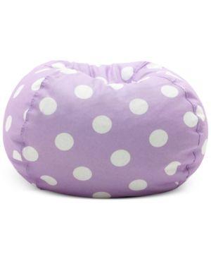Brooke Classic Bean Bag Chair, Quick Ship - Purple