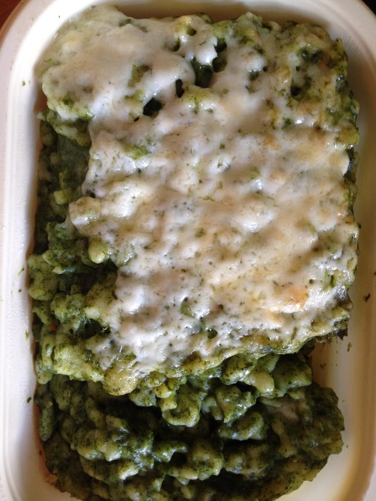 spenótos-sajtos galuska - Interfood